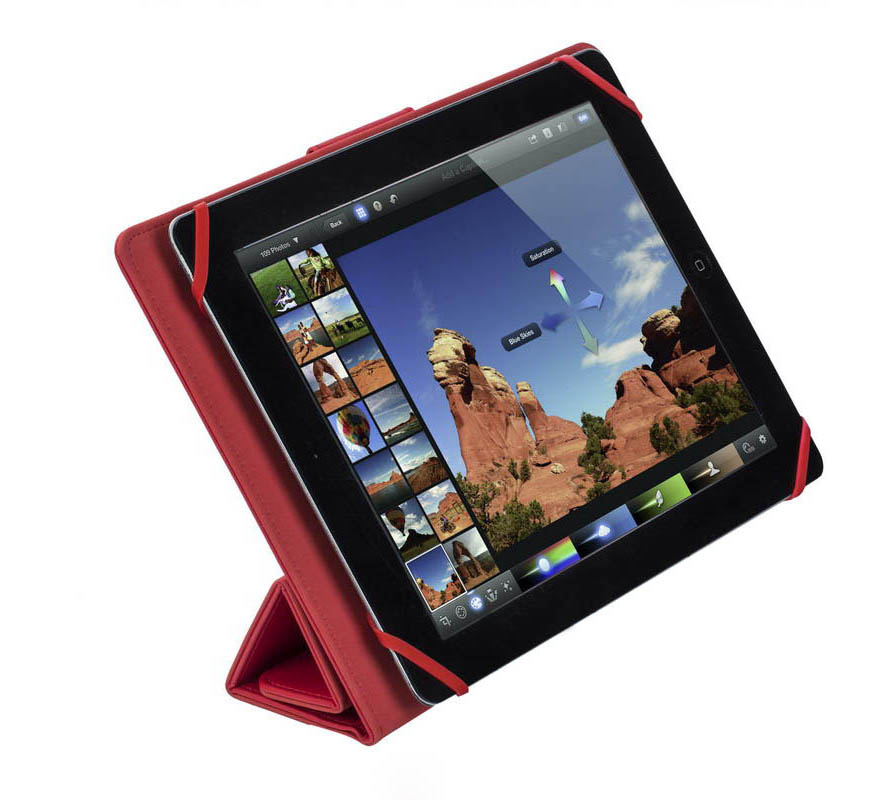 Rivacase 3117 Red Universal Tablet Case & Stand: Θήκη για Tablet έως και 10.1""