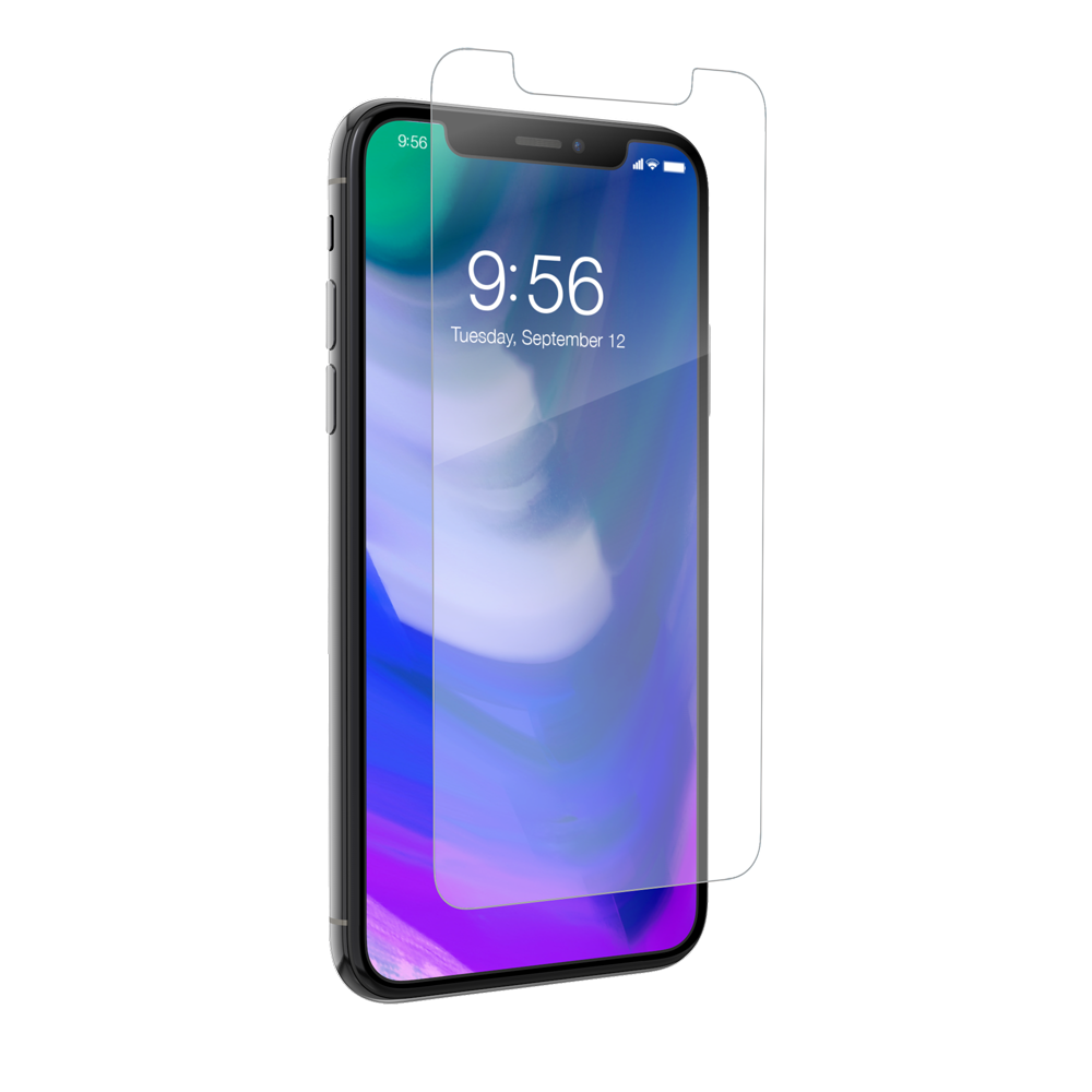 ZAGG HD Dry Screen Protection Full Screen Covarage για Apple iPhone X / iPhone XS