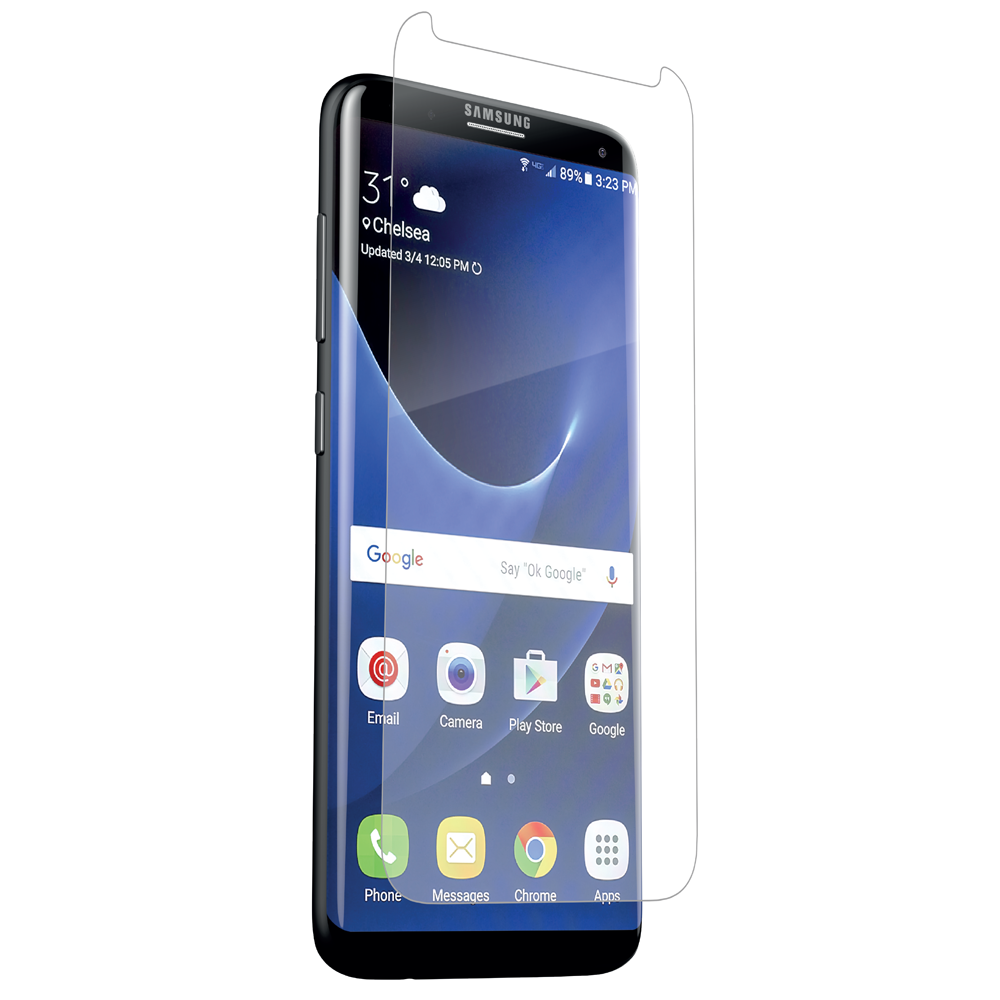 ZAGG HD Dry Screen Protection Full Screen Covarage για Samsung SM-G955F Galaxy S8+ (Plus)