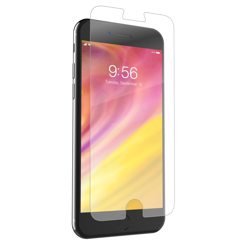 "ZAGG HD Dry Screen Protection Full Screen Coverage για Apple iPhone 7 & 8 (4.7"") & iPhone 6 / 6S (4.7"")"