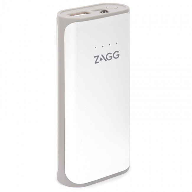ZAGG Ignition 3 White Portable Charger & Torch 3000mAh USB @ 2.1A: Φορητή Μπαταρία για Smartphones, Κινητά, Tablets κ.λπ.