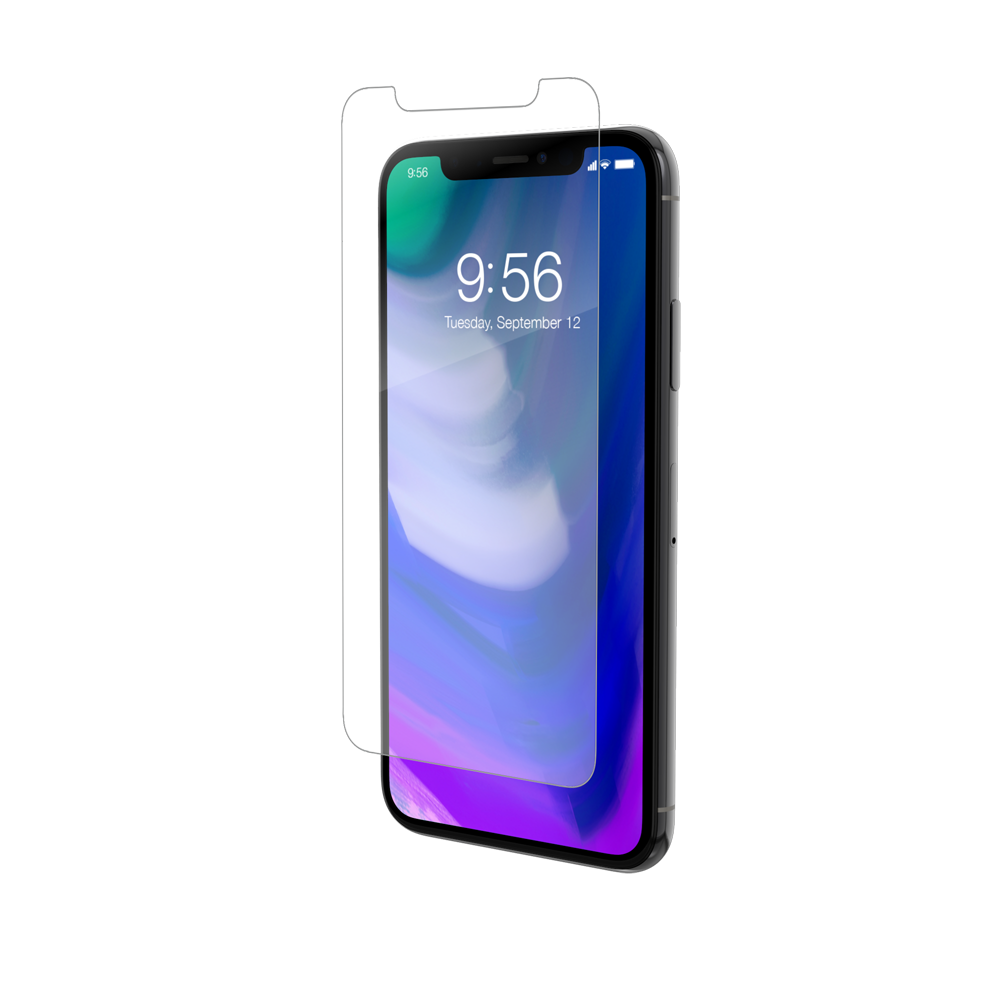 "ZAGG invisibleSHIELD Glass+ (Extreme Impact & Scratch Protection) για Apple iPhone X (5.8"") (Case Friendly)"