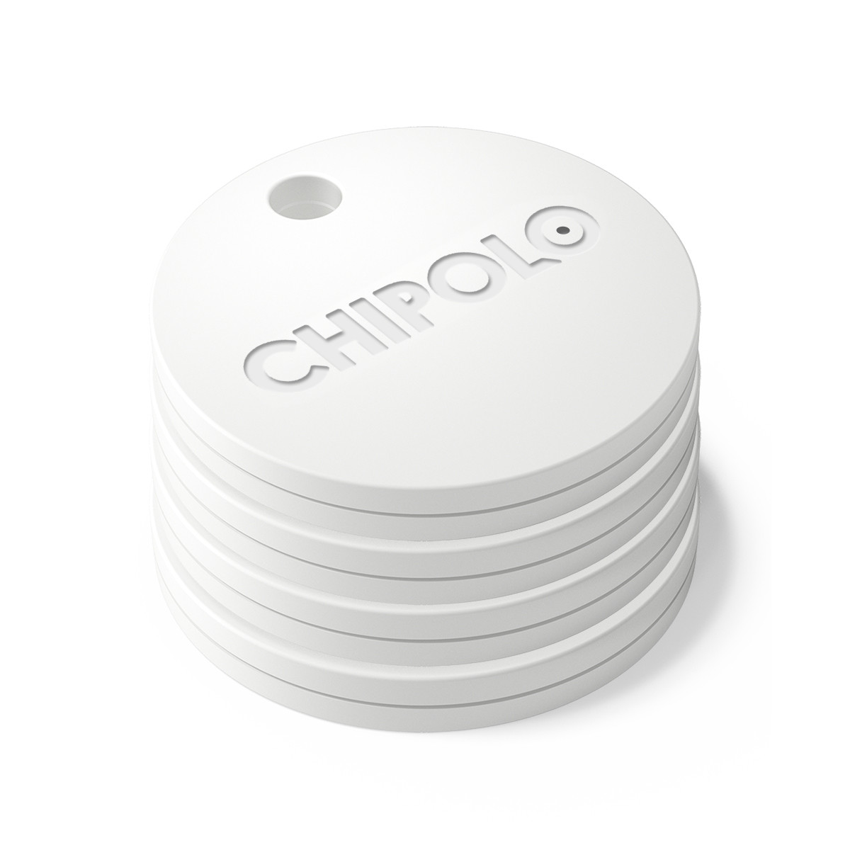 Chipolo Plus @ 100db (Pearl White) Tag it. Find it. Bluetooth Alarm System: iOS & Android συναγερμός απόστασης αντικειμένων!!!