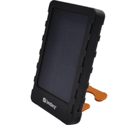 Sandberg 420-16 PowerPal 5000: Portable Power Bank 5000mAh + Φακός + Solar Panel + Stand για Smartphones, Κινητά, Tablets κ.λπ.