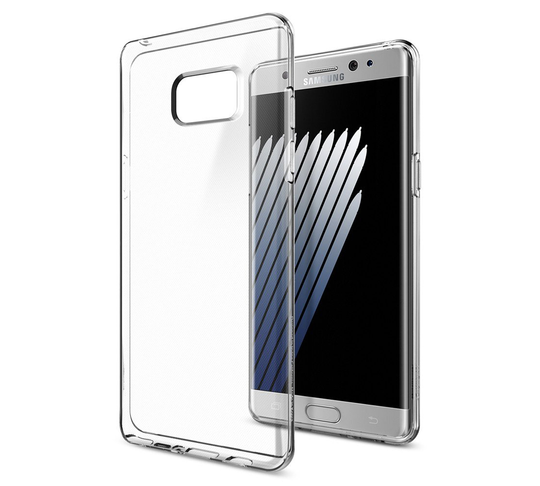 Spigen (SGP562CS20405) Case Liquid Crystal (TPU) για Samsung SM-N930F Note 7 Clear