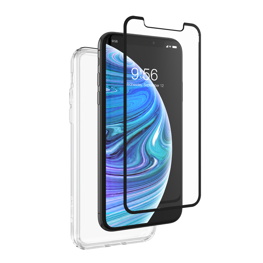 ZAGG invisibleSHIELD 360 Protection (Glass Curve Black + Clear Case) για Apple iPhone X / iPhone XS