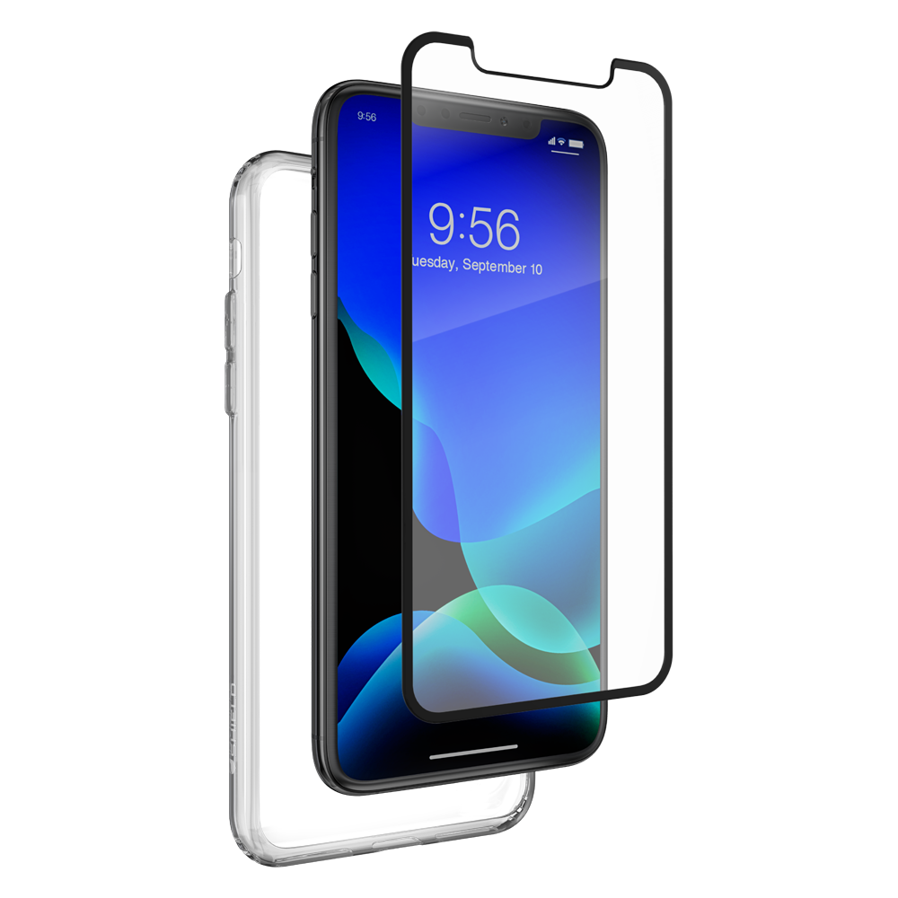 ZAGG invisibleSHIELD 360 Protection (Glass Curve Black + Clear Case) για Apple iPhone 11 Pro Max