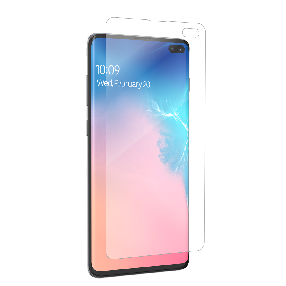ZAGG InvisibleShield Ultra Clear Full Face Screen Protection (Case Friendly) για Samsung SM-G975F Galaxy S10+ (Plus)
