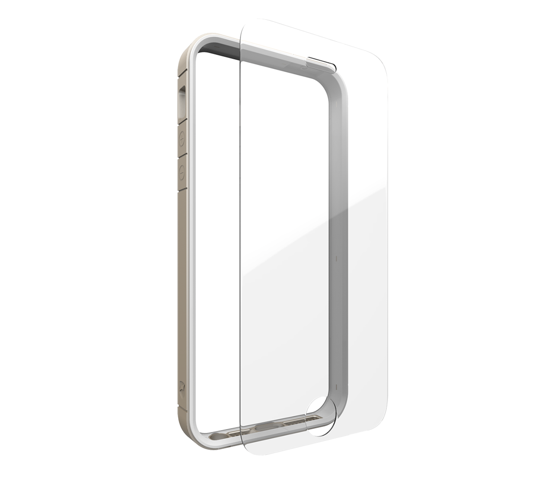 "ZAGG invisibleSHIELD Orbit (Ultra Clear Glass + Bumper Case) για Apple iPhone 6 / 6S Plus (5.5"") Gold (Προστασία 360 μοίρες)"