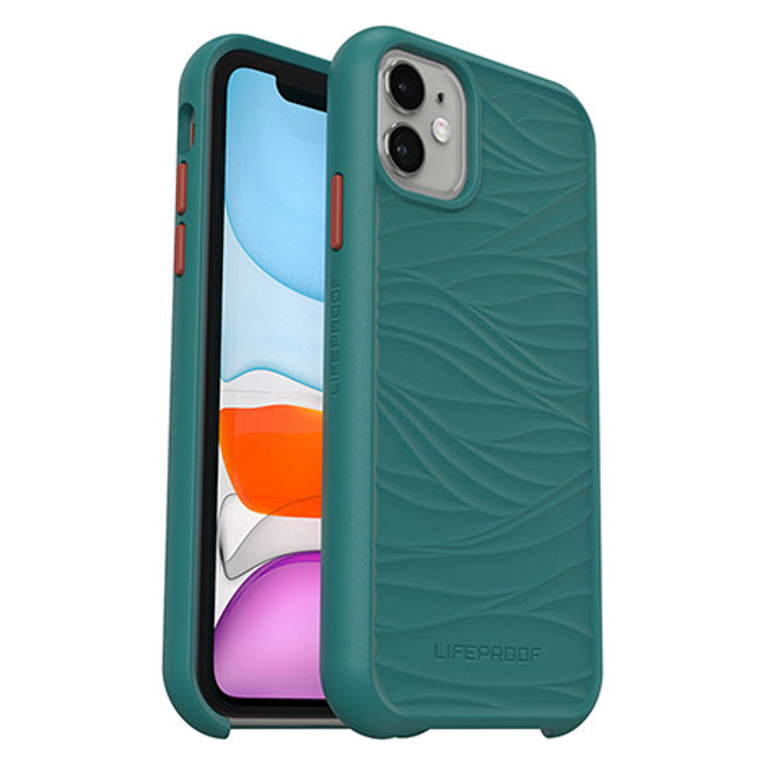 Lifeproof Wake Dropproof Case για Apple iPhone 11 Blue/Green (77-65115)