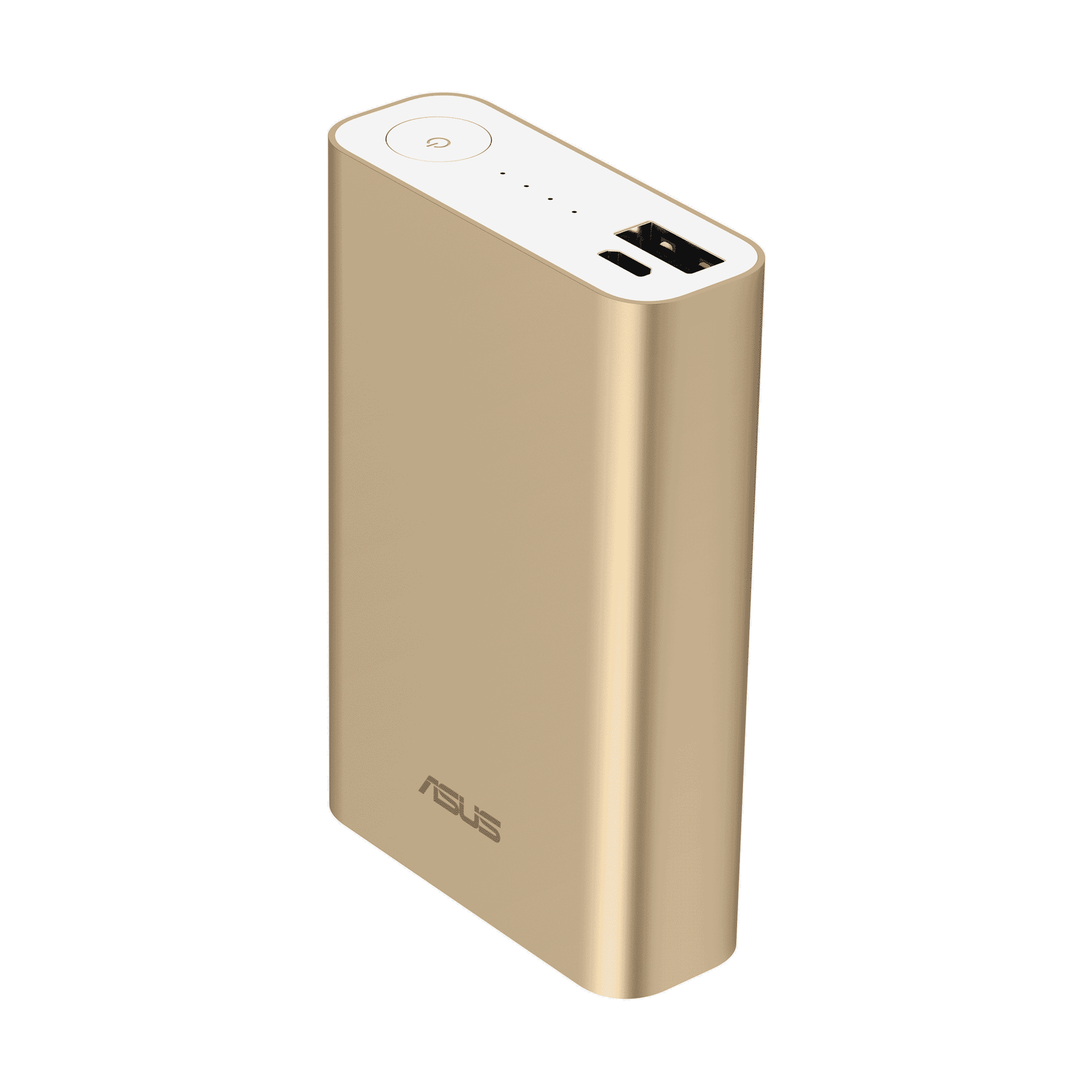 Asus ZenPower Power Bank 10050mAh USB @ 2.4A Gold | Lightweight and Powerful | Credit Card Size