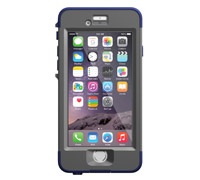 "LifeProof Nuud WaterProof, DirtProof, SnowProof, ShockProof Case Blue για iPhone 6 (4.7"") (77-50350)"