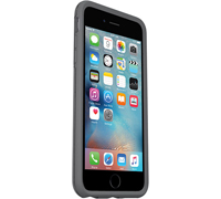 "Otterbox Symmetry Series Sleek Protection Case για Apple iPhone 6 Plus / 6S Plus (5.5"") Grey/Clear (77-52477)"
