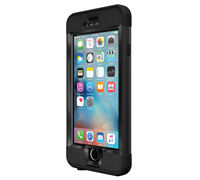 "LifeProof Nuud With TouchID WaterProof, DirtProof, SnowProof, ShockProof Case Black για iPhone 6 Plus / 6S Plus (5.5"") 77-52574"