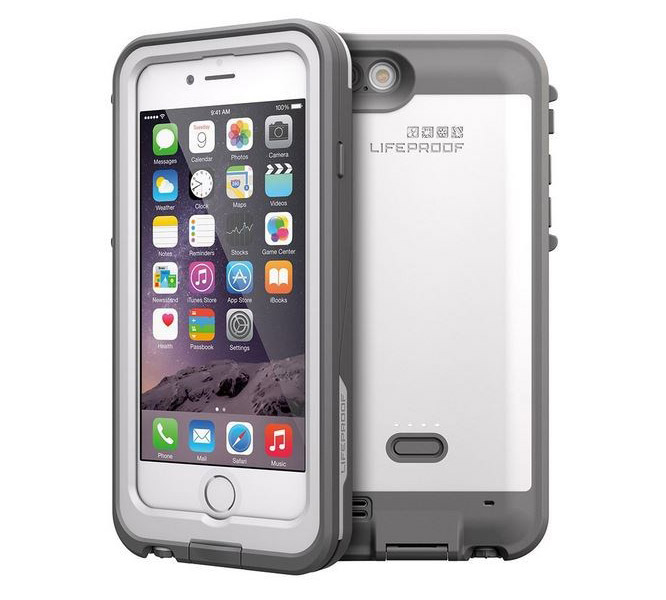 "LifeProof Fre WaterProof & Battery 2600mAh Case White για iPhone 6 / 6S (4.7"") (77-52786) (OFF2)"
