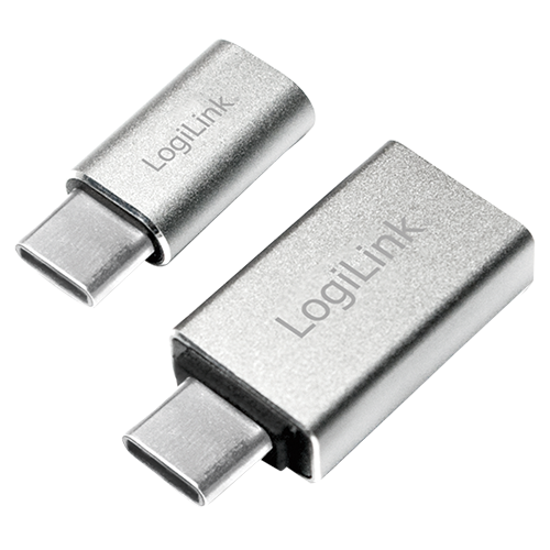 Logilink AU0040 USB-C Adapter (USB-C to USB 3.0 & Micro-USB)