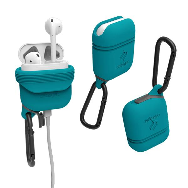 Catalyst Case WaterProof (1m), DirtProof (6x), SnowProof, ShockProof (1.2m) Glacier Blue (Teal) για Apple Airpods