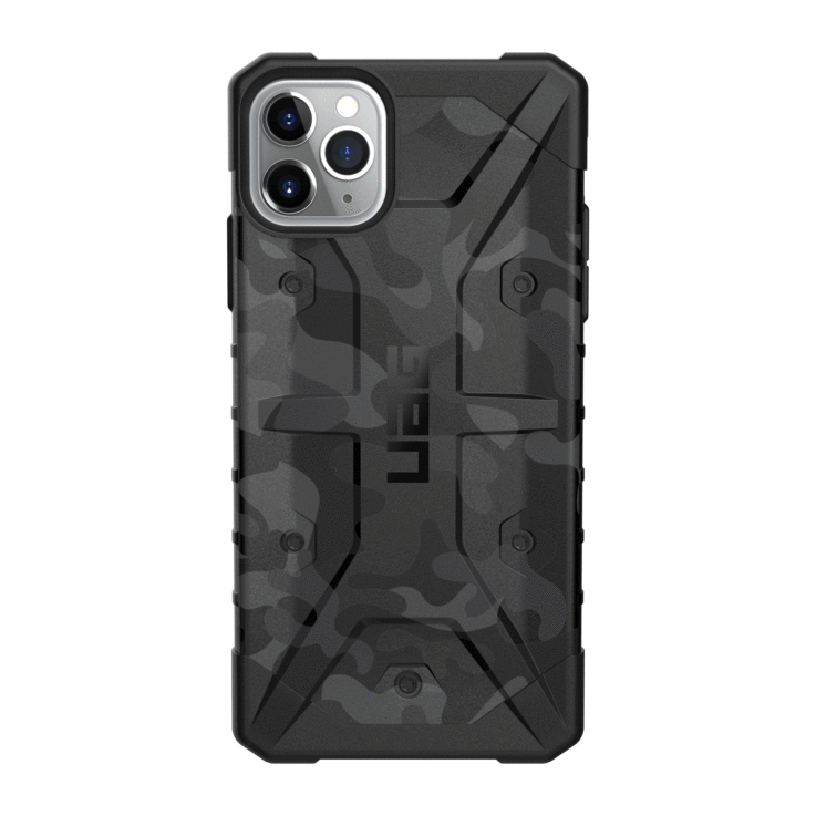 UAG Original Protective Cover Case Camo Series για Apple iPhone 11 Pro Max Midnight Black