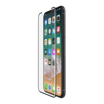 "Belkin ScreenForce Tempered Curve Glass για Apple iPhone X (5.8"") (F8W867zzBLK) (Case Friendly)"