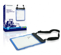 Conceptronic Waterproof Tablet Bag With Audio Passthrough CWPBTABAP (C05-020)