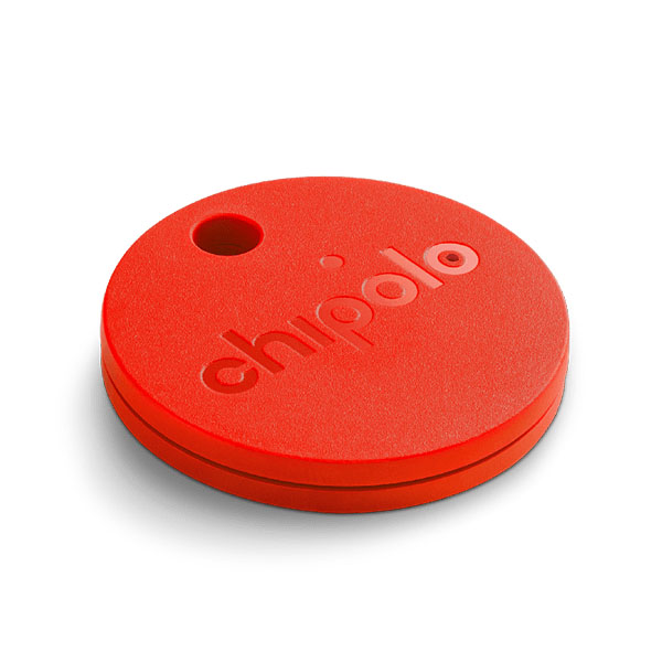 Chipolo Classic (Coral Red) Tag it. Find it. Bluetooth Alarm System: iOS & Android συναγερμός απόστασης αντικειμένων!