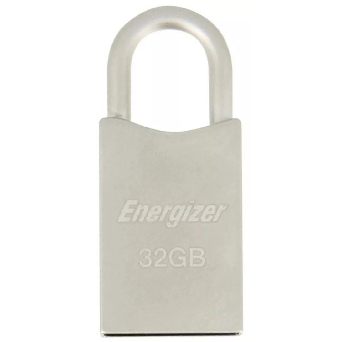 Energizer HighTech Metal Padlock USB 2.0 Flash Drive 32GB FUSMTH032R | Ένα stylish μικροσκοπικό λουκέτο - USB Stick!