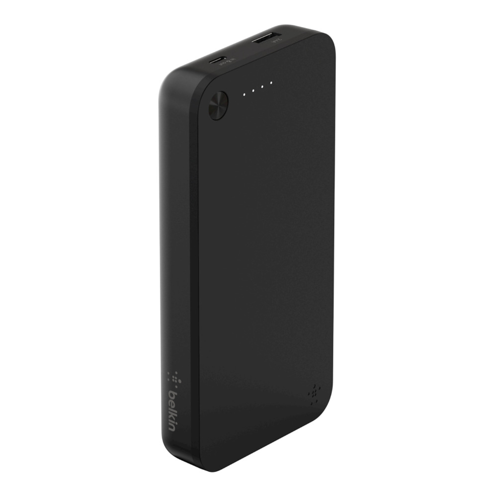 Belkin F7U063btBLK BoostCharge Power Bank USB + Type-C 20100mAh | MacBook, iPhone, iPad, Nintendo Switch, Smartphones & Tablets