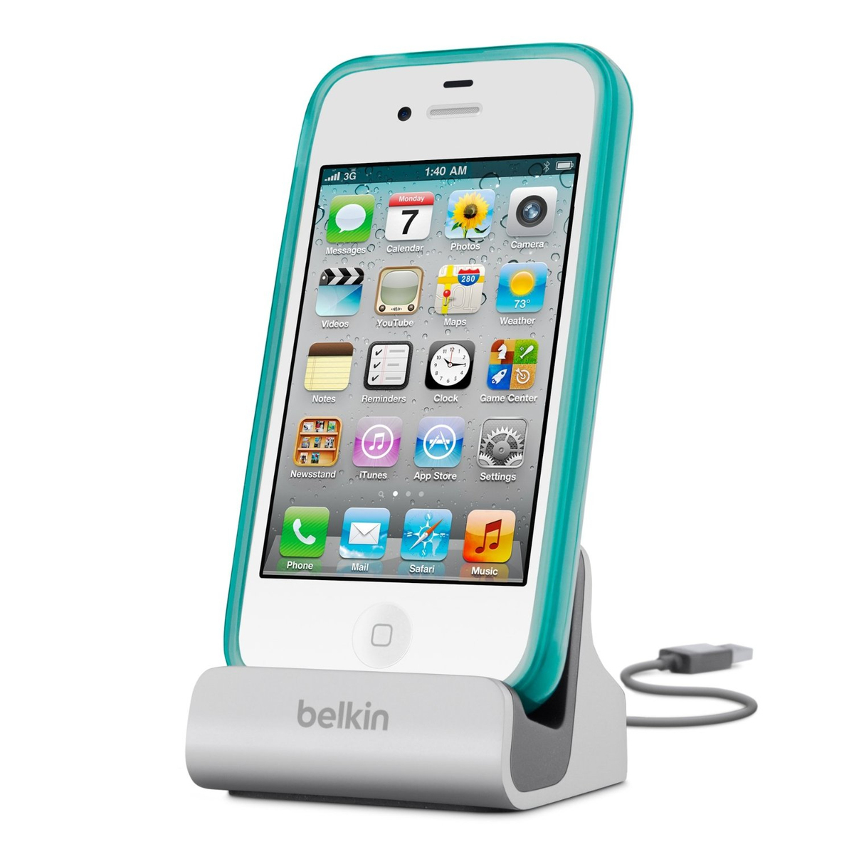 Belkin Apple 30-pin Charge & Sync Dock + Extension Cable (F8J008cw): Βάση στήριξης/φόρτισης/συγχρονισμού!