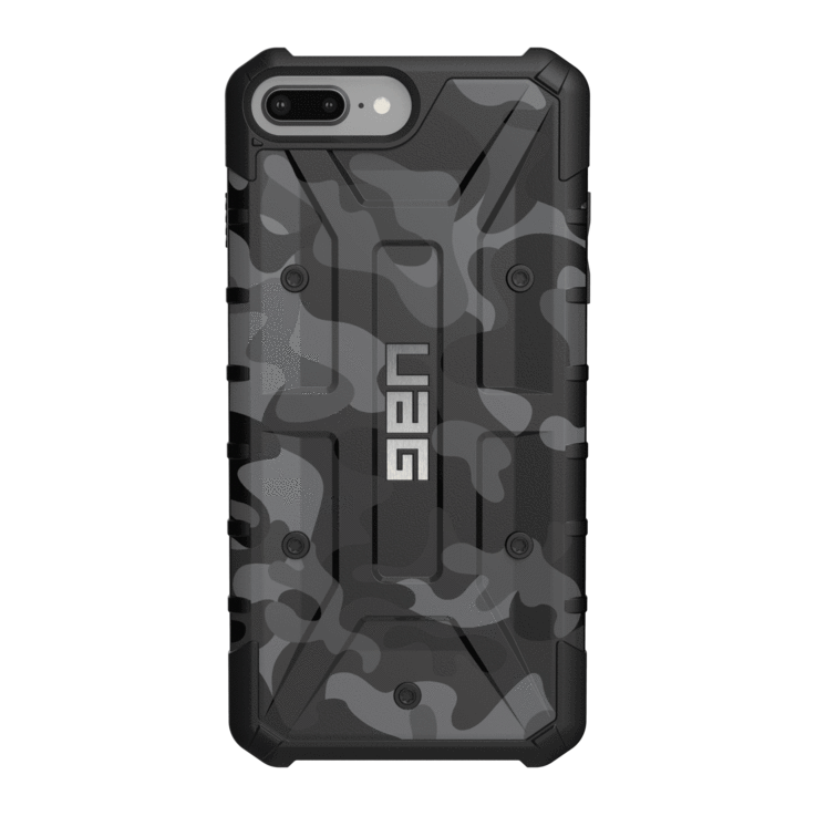 "UAG Original Protective Cover Case SE Camo Series για Apple iPhone 7 & 8 Plus (5.5"") & iPhone 6s Plus (5.5"") Midnight Black"