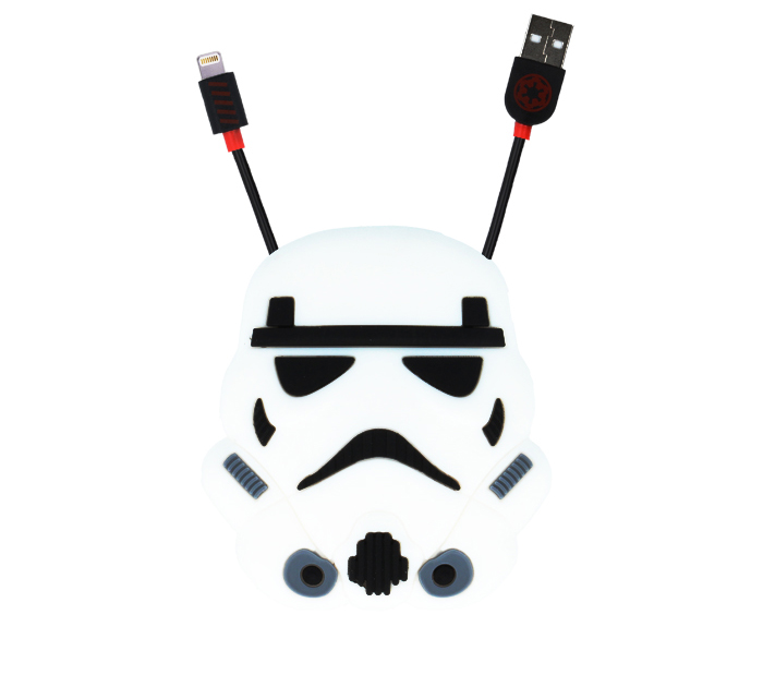 Star Wars Storm Trooper MFI Lightning Data & Charge Cable + Cable Storage...και πάρτε την Δύναμη του Γαλαξία στα χέρια σας!