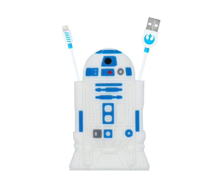 Star Wars R2D2 MFI Lightning Data & Charge Cable + Cable Storage...και πάρτε την Δύναμη του Γαλαξία στα χέρια σας!