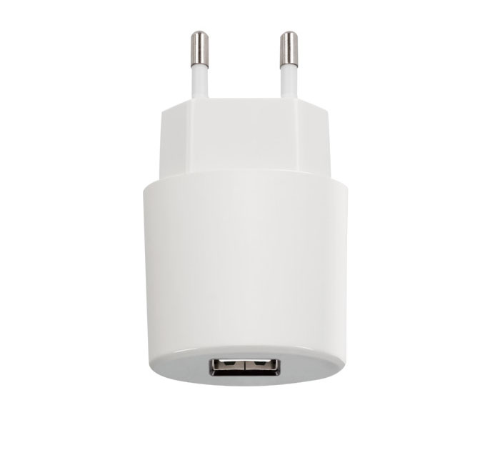 Forever WC21 White USB Wall Charger @ 2.1A: Φορτιστής Ρεύματος με θύρα USB