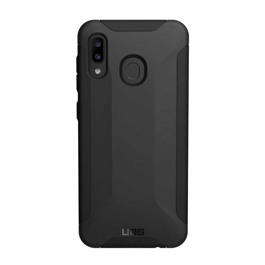UAG Original Protective Cover Case Scout Series για SM-A205F/SM-A305F Galaxy A20/A30 Black