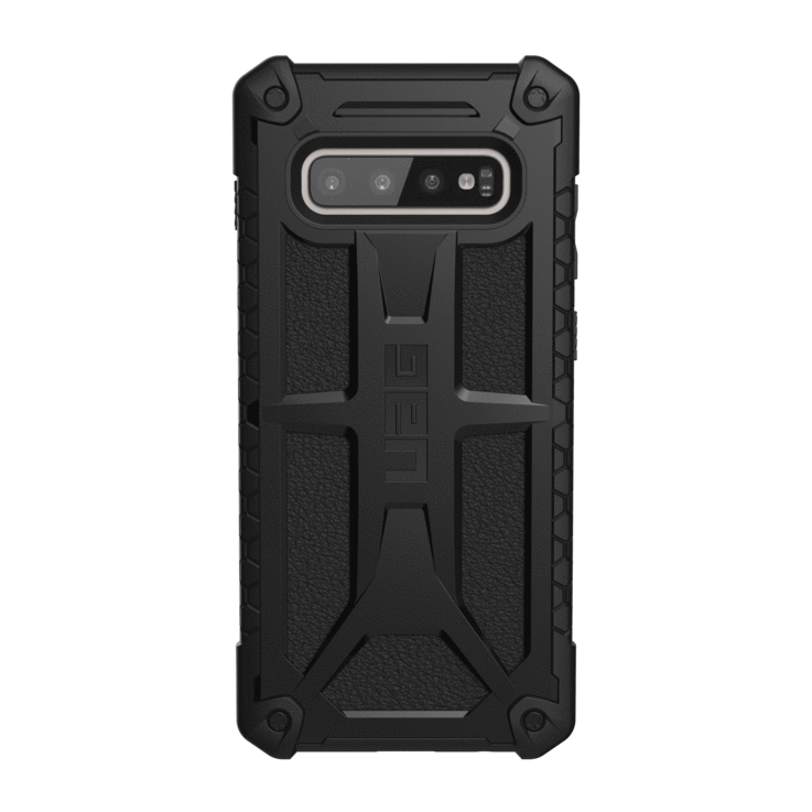 UAG Original Protective Cover Case Monarch Series για Samsung SM-G975F Galaxy S10+ (Plus) Black