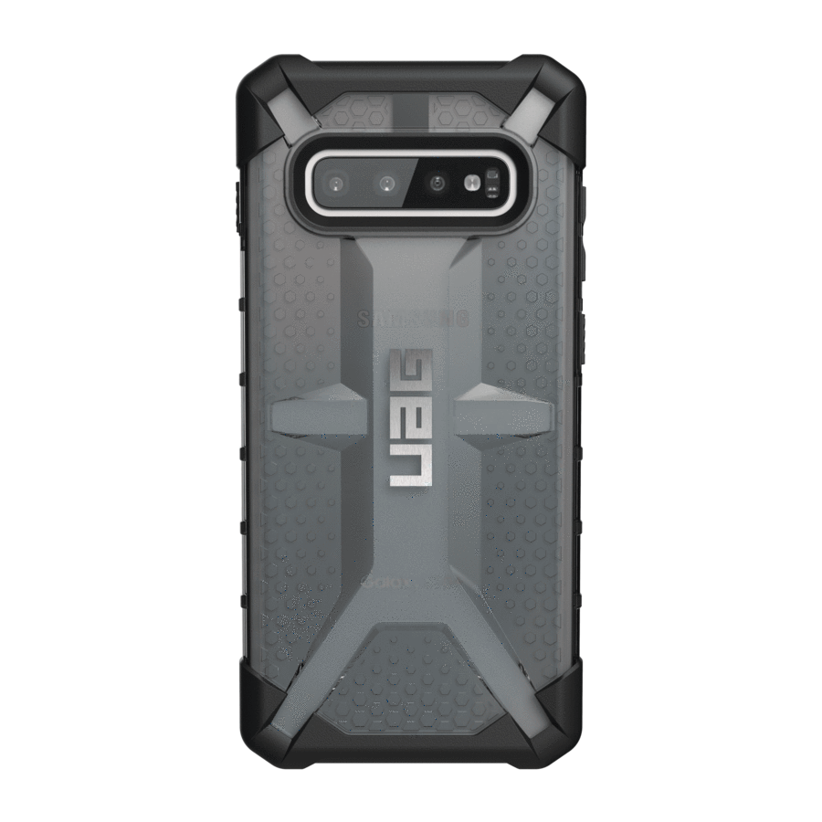 UAG Original Protective Cover Case Plasma Series για Samsung SM-G975F Galaxy S10+ (Plus) ASH (Smoke)