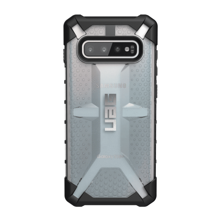 UAG Original Protective Cover Case Plasma Series για Samsung SM-G975F Galaxy S10+ (Plus) ICE (Clear)