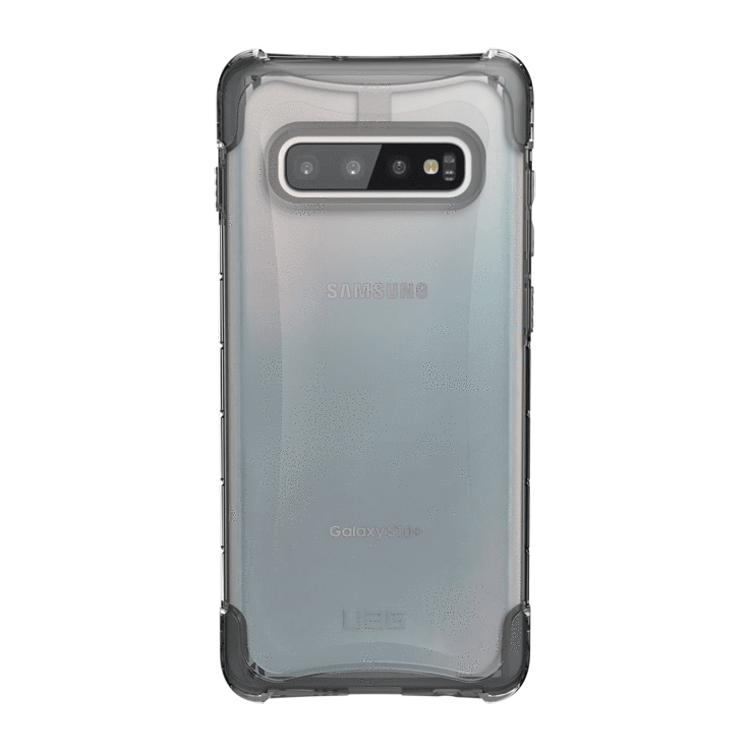 UAG Original Protective Cover Case Plyo Series για Samsung SM-G975F Galaxy S10+ (Plus) ICE (Clear)