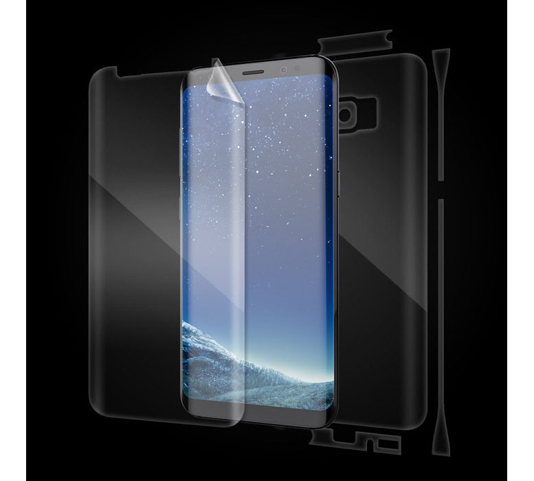 Ultimate Shield Full Body Curved Screen Protector για Samsung SM-G950F Galaxy S8 + Οδηγίες εγκατάστασης