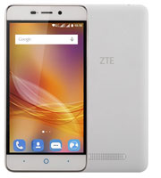 ZTE Blade A452 Quad Core Dual Sim (2 κάρτες), 4G, Android Smartphone Gold/White