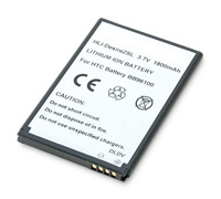 Adapt Extended Battery 1800mAh για HTC S521 Snap, T7373 Touch Pro2