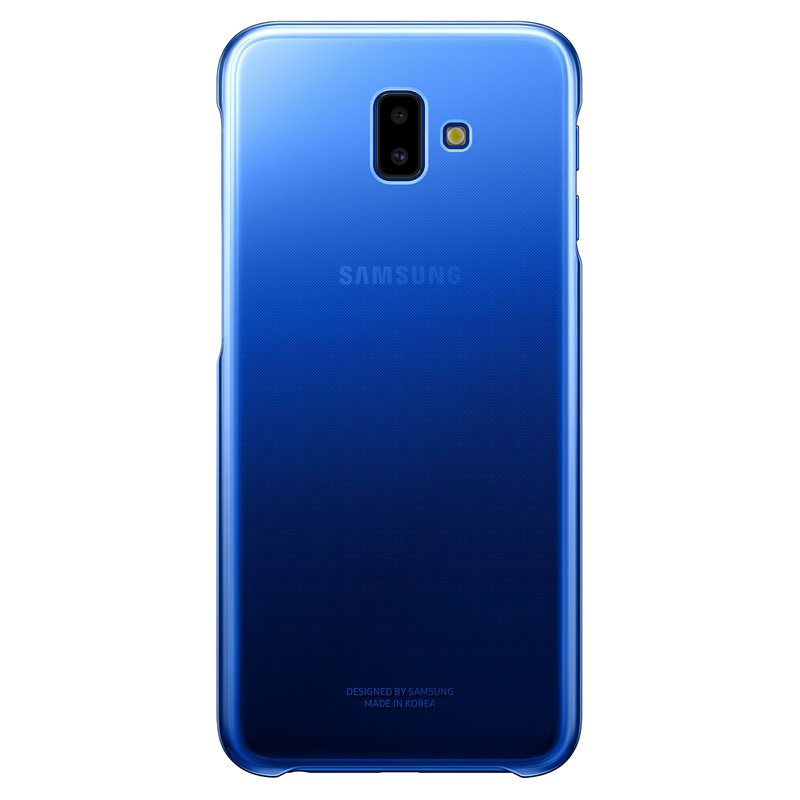Samsung EF-AJ610CLE Gradation Cover Case για Samsung SM-J610F Galaxy J6+ Plus (2018) Blue