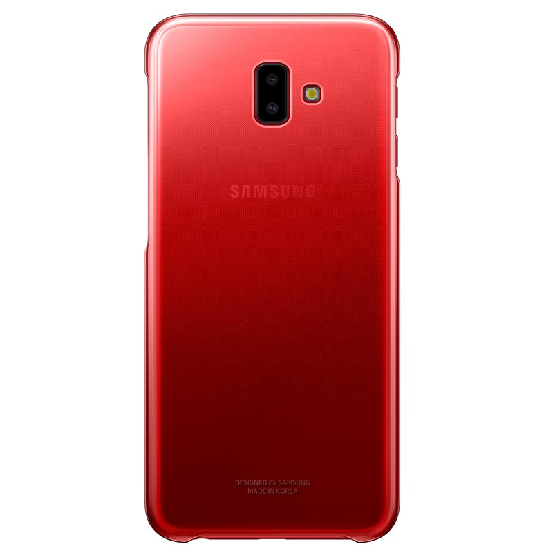 Samsung EF-AJ610CRE Gradation Cover Case για Samsung SM-J610F Galaxy J6+ Plus (2018) Red