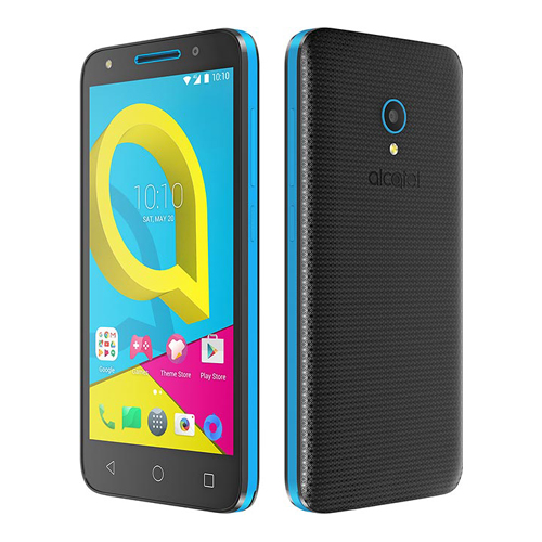 Alcatel 4047D U5 3G, 8GB ROM & 1GB RAM Dual Sim Android Smartphone Sharp Blue