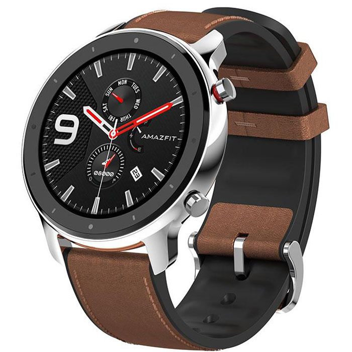 Amazfit (A1902) GTR (47mm) Stainless Steel By Huami Smartwatch (Global Version)