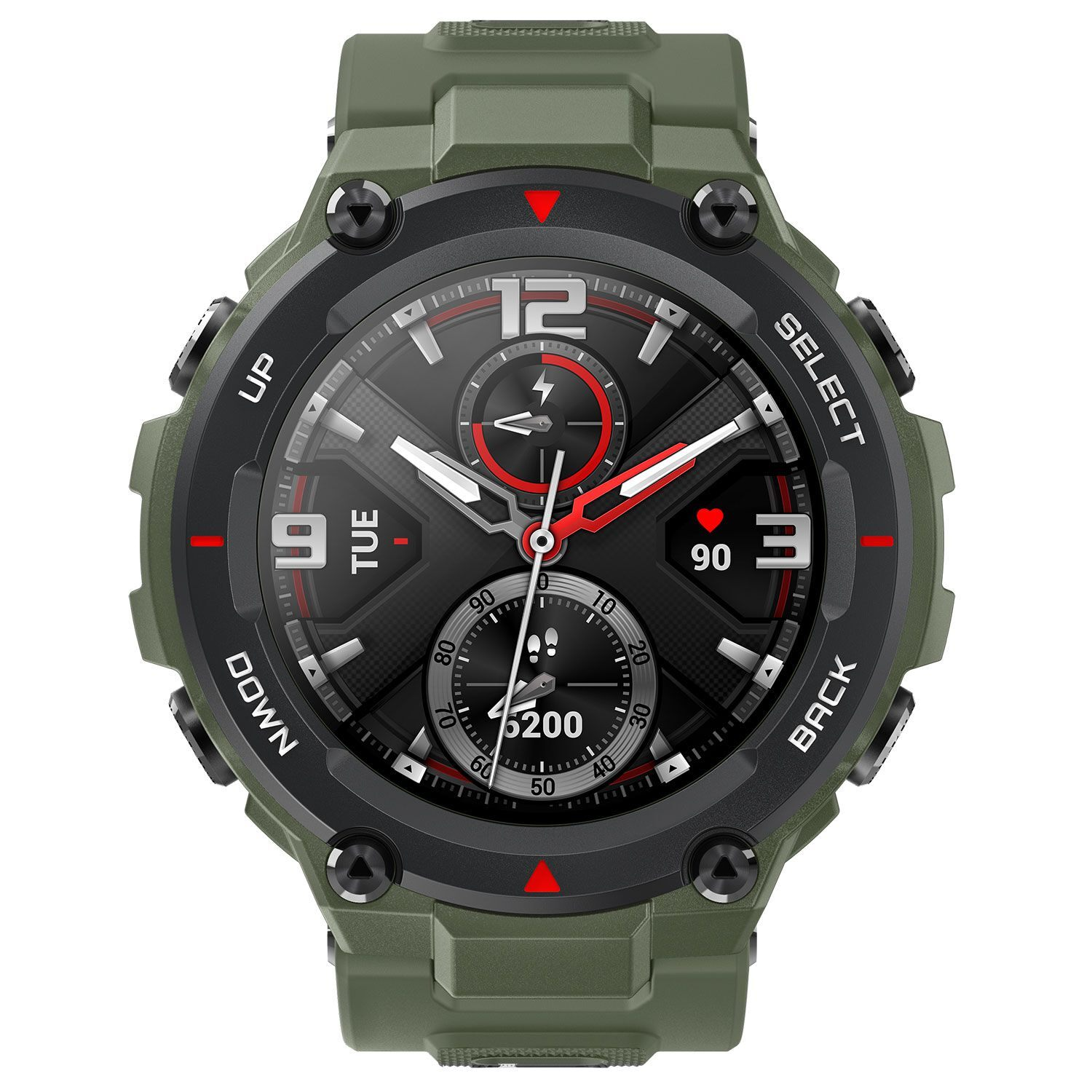 Amazfit T-Rex Army Green By Huami Smartwatch (Global Version)