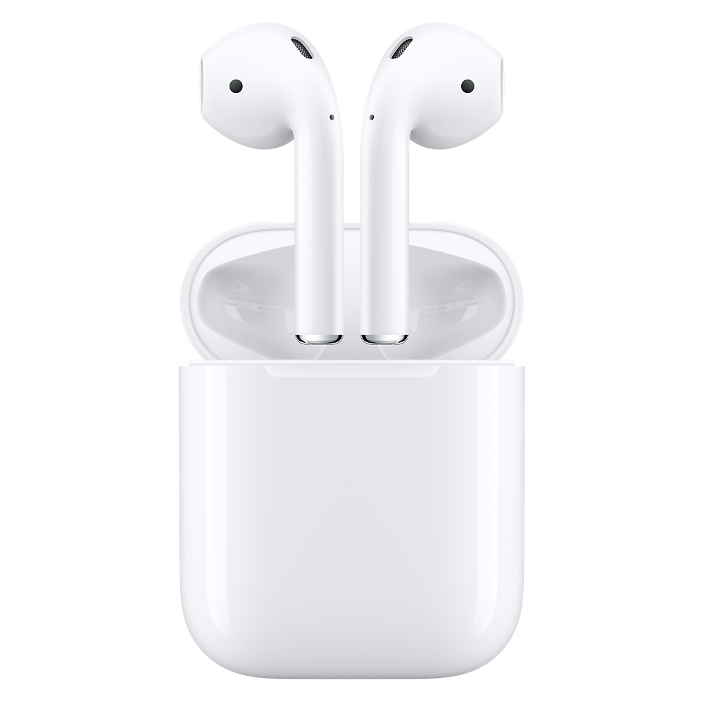 "Apple AirPods ""EarPods Style"" Stereo Bluetooth Headset + Case White + Spigen Strap White + Spigen EarHook (Demo καταστήματος)"
