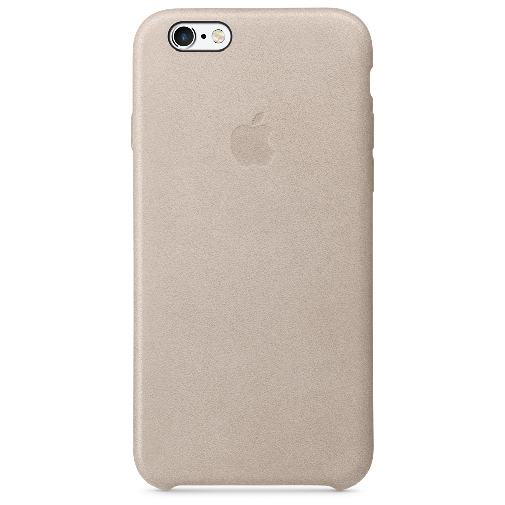 "Apple MKXV2ZM Original Leather Case για iPhone 6 / 6S (4.7"") Rose Gray"