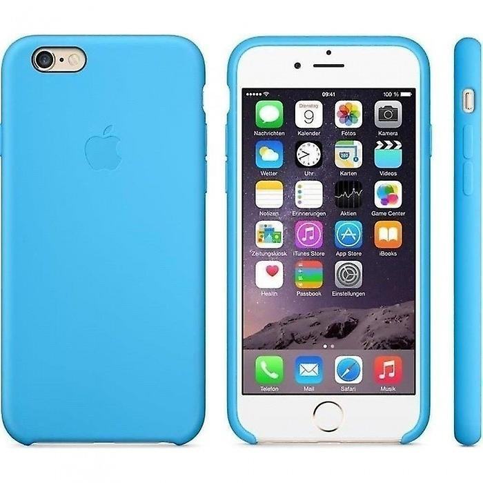 "Apple MKY52ZM Original Silicone Case για iPhone 6 / 6S (4.7"") Blue"