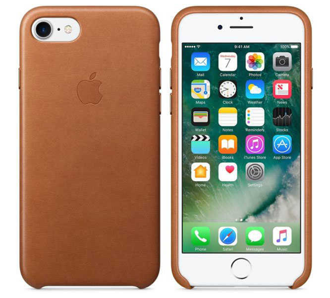 "Apple MMY22ZM Original Leather Case για iPhone 7 & 8 (4.7"") Saddle Brown"