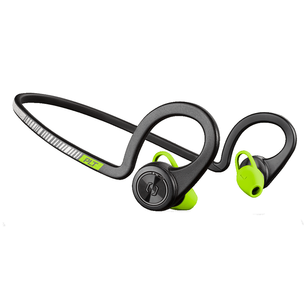 Plantronics BackBeat Fit v2 (2017) Wireless Sport Headphones Sweat & Waterproof Black Core